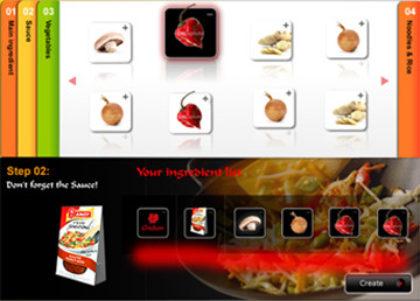 Amoy - Flavour Creator Flash widget