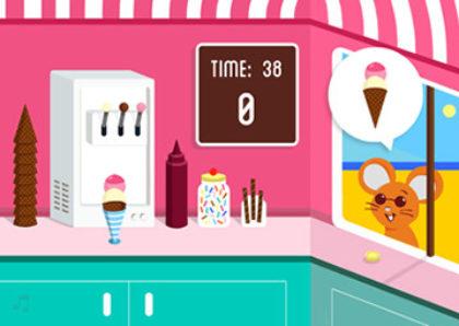 Leicester's Ice Cream You Scream - Flash game