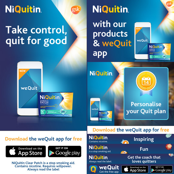 Niquitin - HTML5 Banners